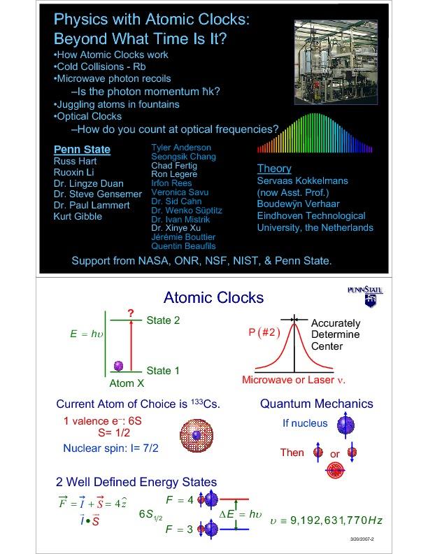 Physics at the University Of Virginia - Seminars And Colloquia on